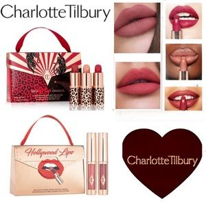 2 for $35! Two NEW Charlotte Tilbury Mini Lip Kits